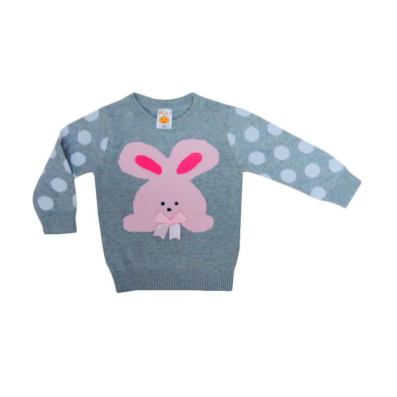 PLEU Rabbit Rajut Sweater Anak