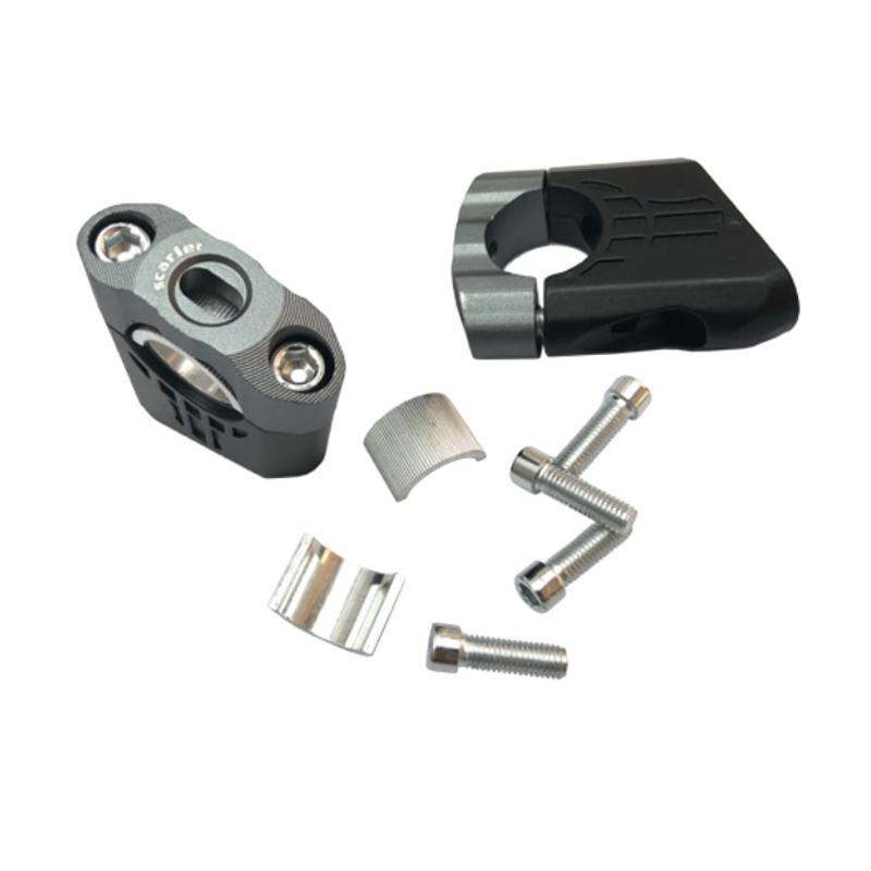 harga Scarlet Racing 2333 CNC Raiser Peninggi Setang Motor for Universal - Titanium Blibli.com