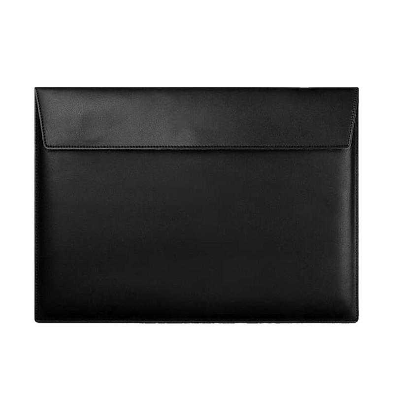 harga Cooltech Softcase Microfiber PU Leather Tas Laptop - Black [14 inch] Blibli.com