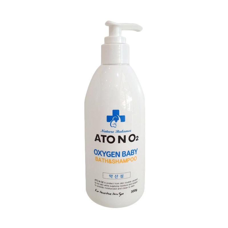 harga ATO N O2 Oxygen Baby Bath And Shampoo Sabun & Sampo Bayi [300 g] Blibli.com