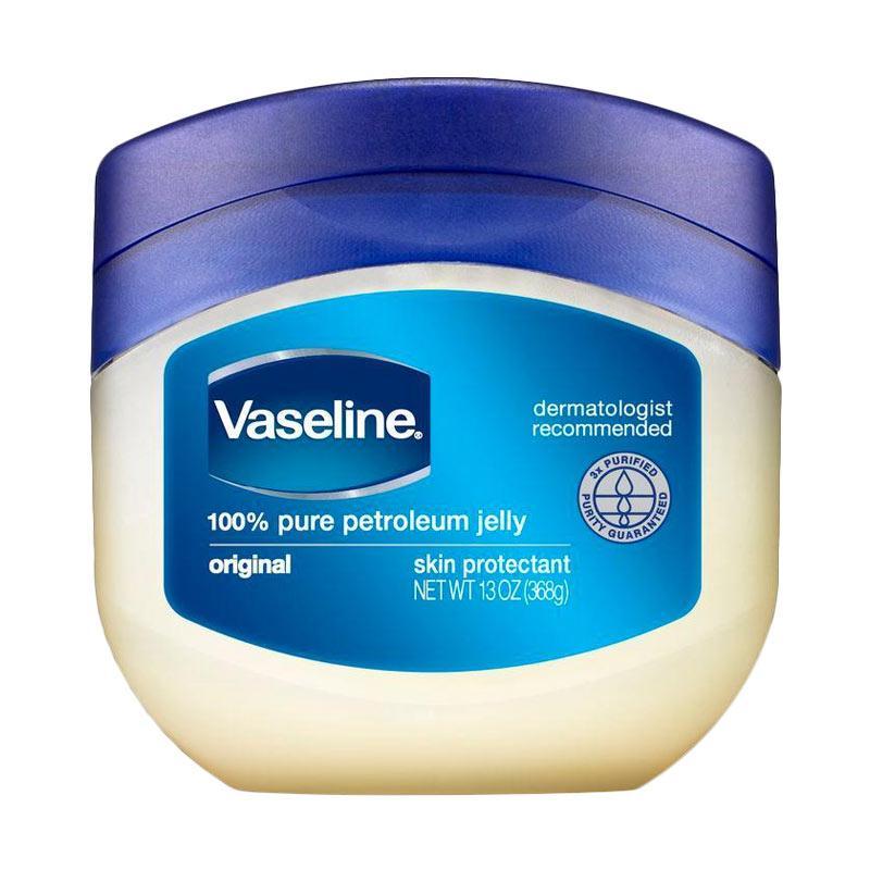 Jual Vaseline Pure Petroleum Jelly Skin Protectant Pelembab Tubuh [Original/ 368 g] Online April 2021   Blibli