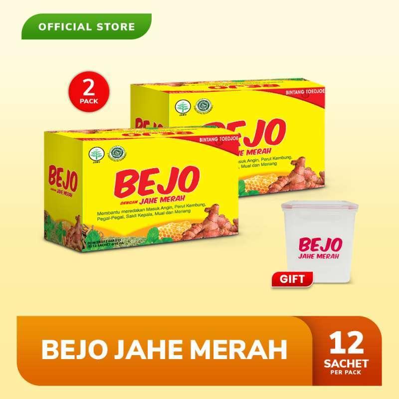Bejo Jahe Merah Sachet 2 Pack (24 Sachet) FREE New Lunch Box