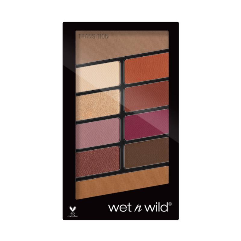 Wet N Wild Color Icon 10 Pan Palette Eyeshadow Rose In The Air