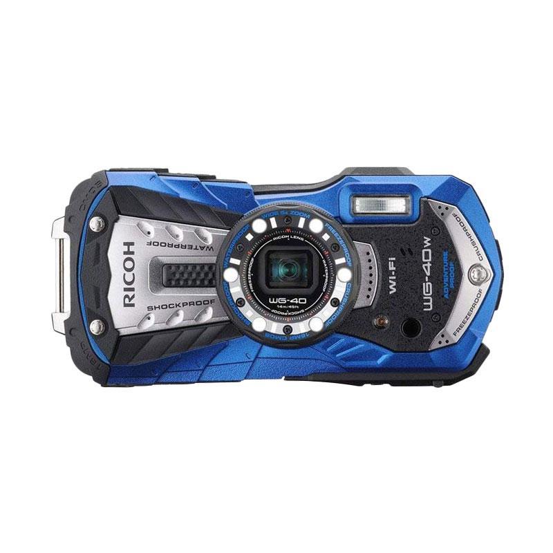 RICOH WG-40 Wifi (Blue) - FOCUS NUSANTARA Blue