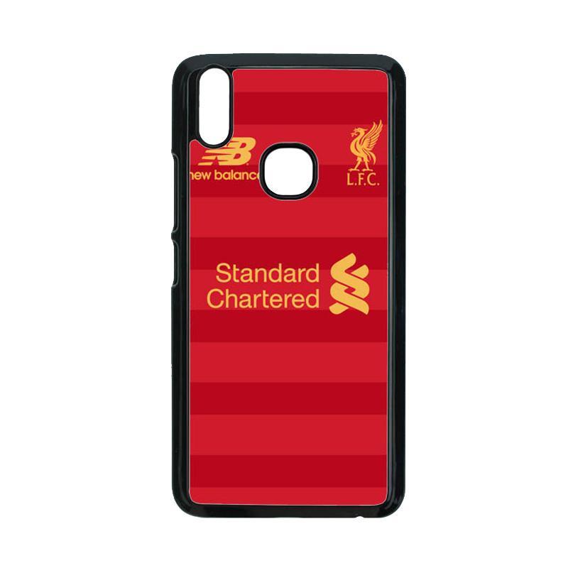 finest selection 9db66 60ea5 Guard Case Liverpool Jersey Home O1241 Custom Hardcase Casing for VIVO V9