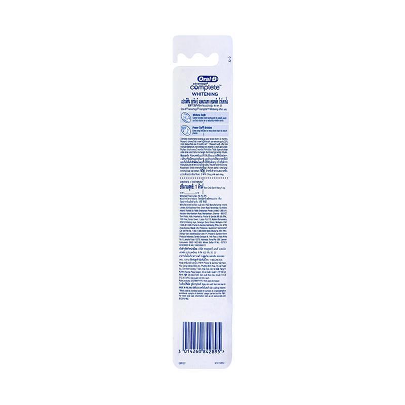 Jual Oral-B Complete Whitening Soft Sikat Gigi Online - Harga   Kualitas  Terjamin  88e5d57a5a