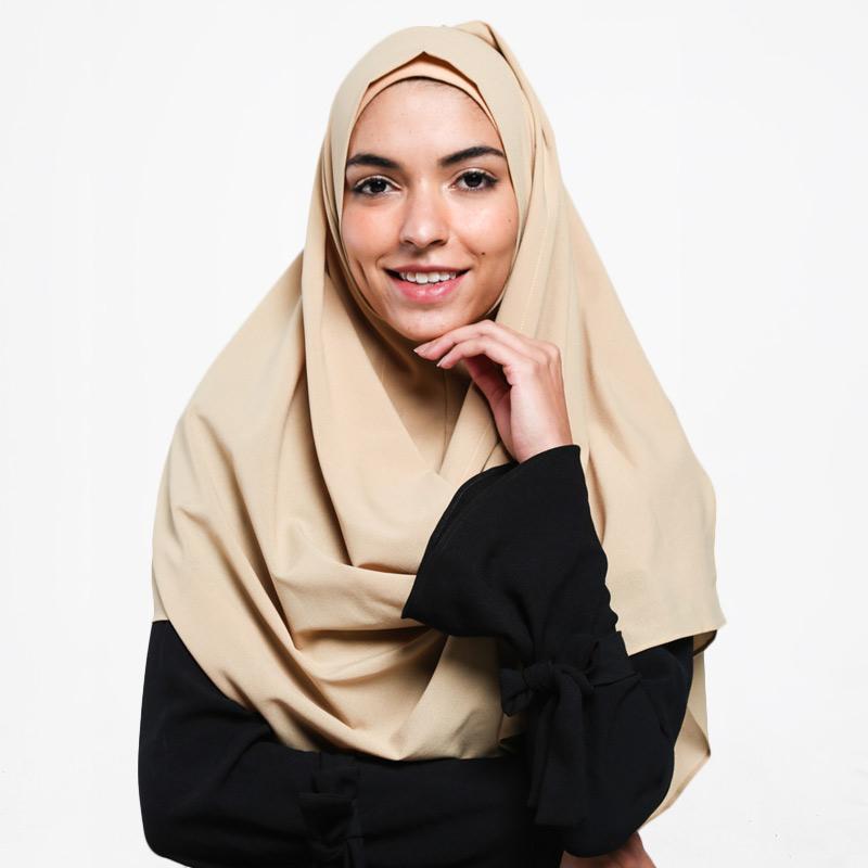 Jual Paling Murah Ayda Pastan Diamond Crepe Pashmina Instan Syar I Online November 2020 Blibli Com