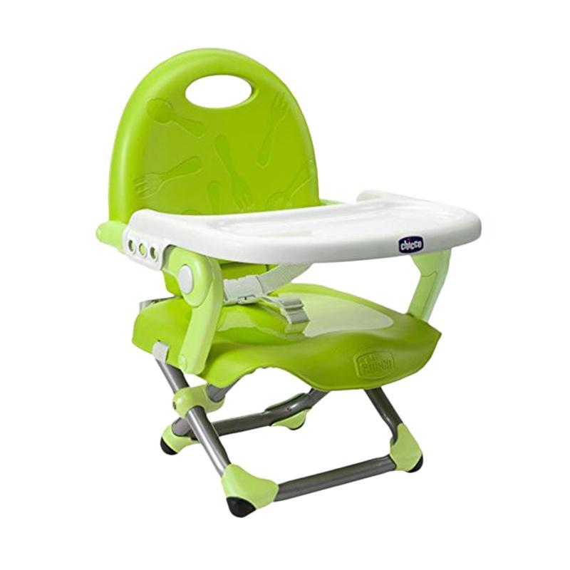 Chicco Pocket Snack Booster Seat Kursi Makan Bayi Lime
