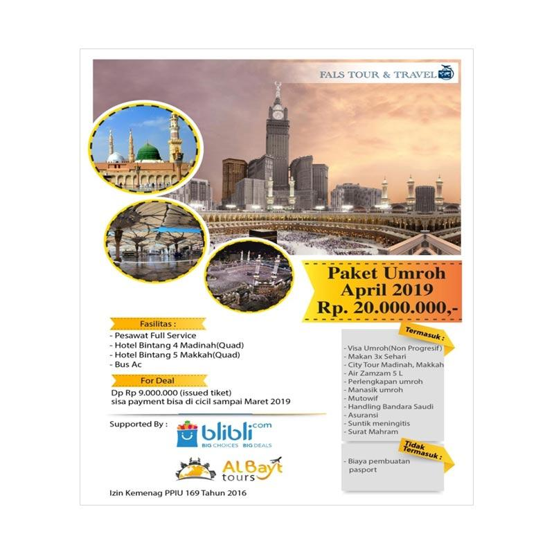 Fals Tour Travel Paket Umroh Reguler April 2019