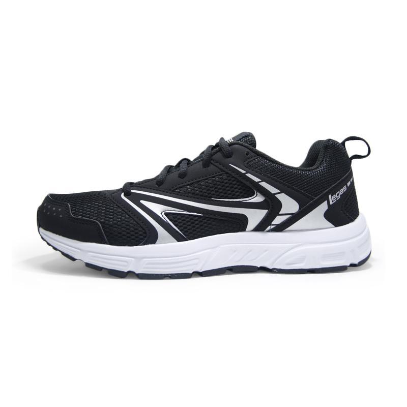 League Unisex Legas Series Veloce LA Sepatu Lari Black