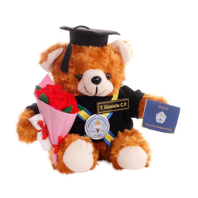 Jual Kado Wisudaku Bear Boneka Wisuda Coklat Tua With Buket Bunga Dan Ijazah Online November 2020 Blibli Com