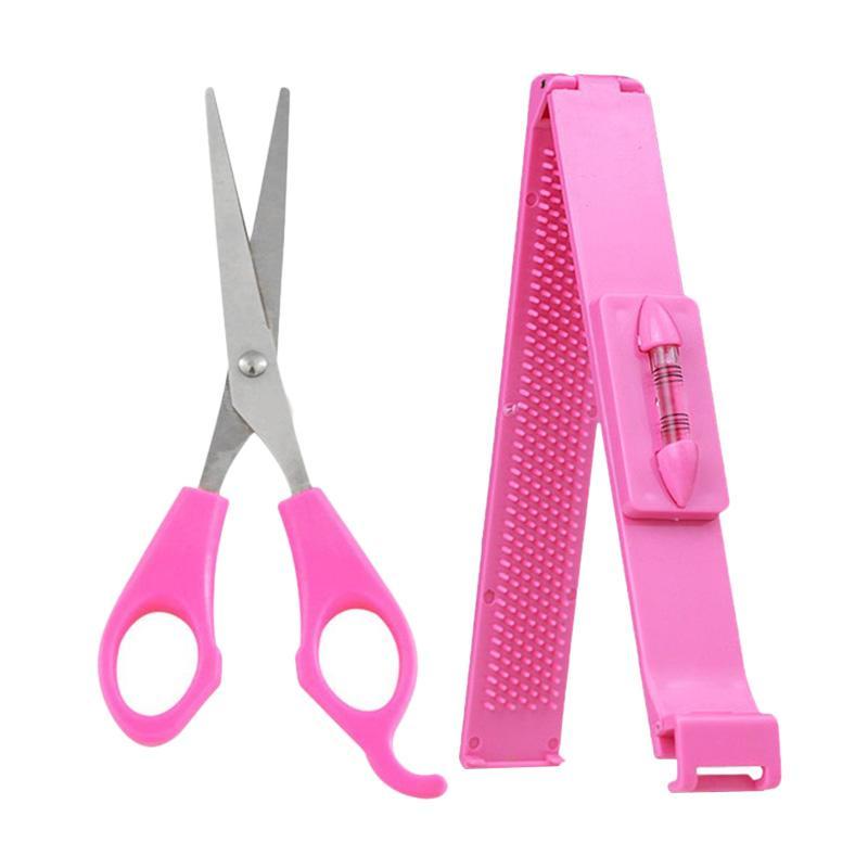 Jual Hair Tools Alat Bantu Gunting Pemangkas Poni Rambut Penggaris Poni  Online - Harga   Kualitas a1ee06ddbd