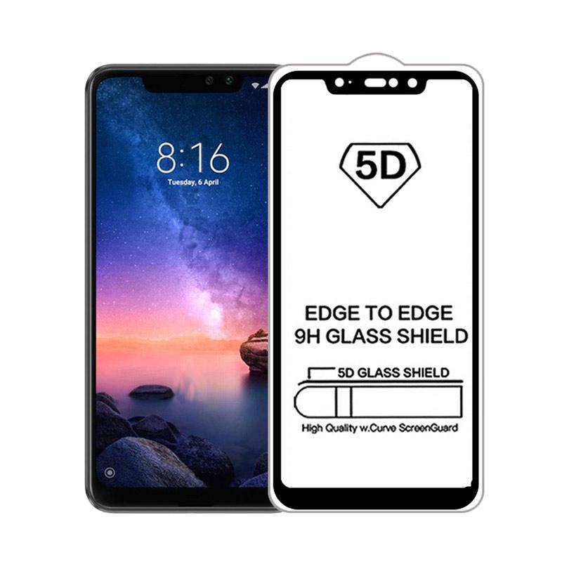 Ranmel Glass Tempered Glass Screen Protector for Samsung galaxy M20 (2019) - Hitam [