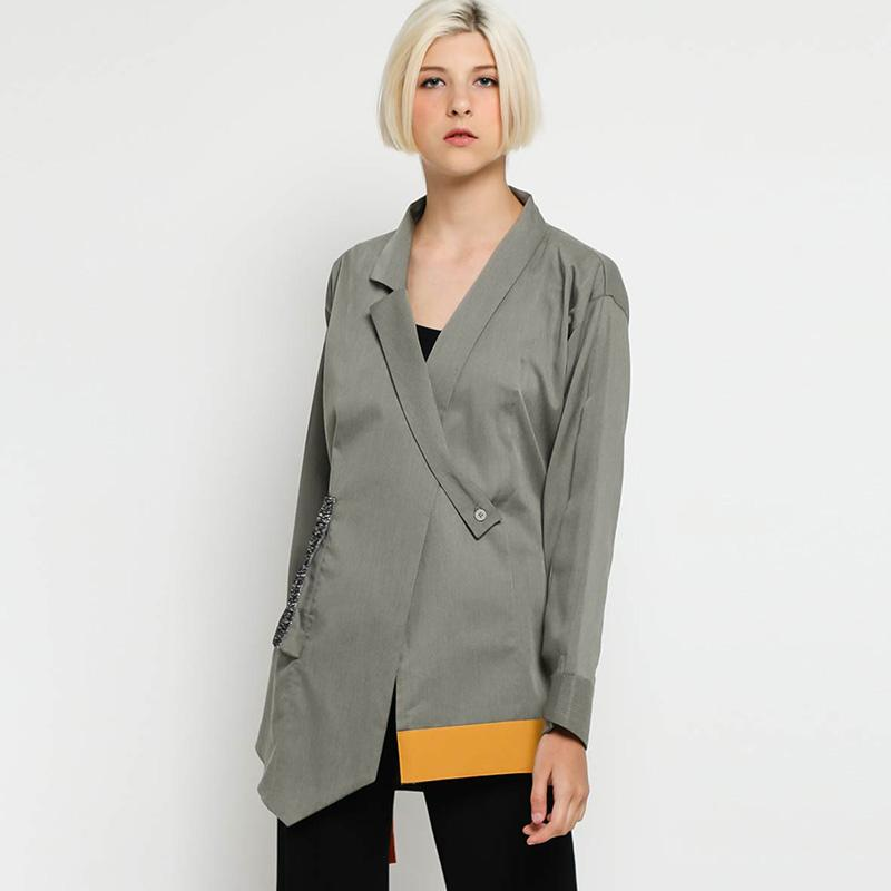 Oline Workrobe Waisted Jacket