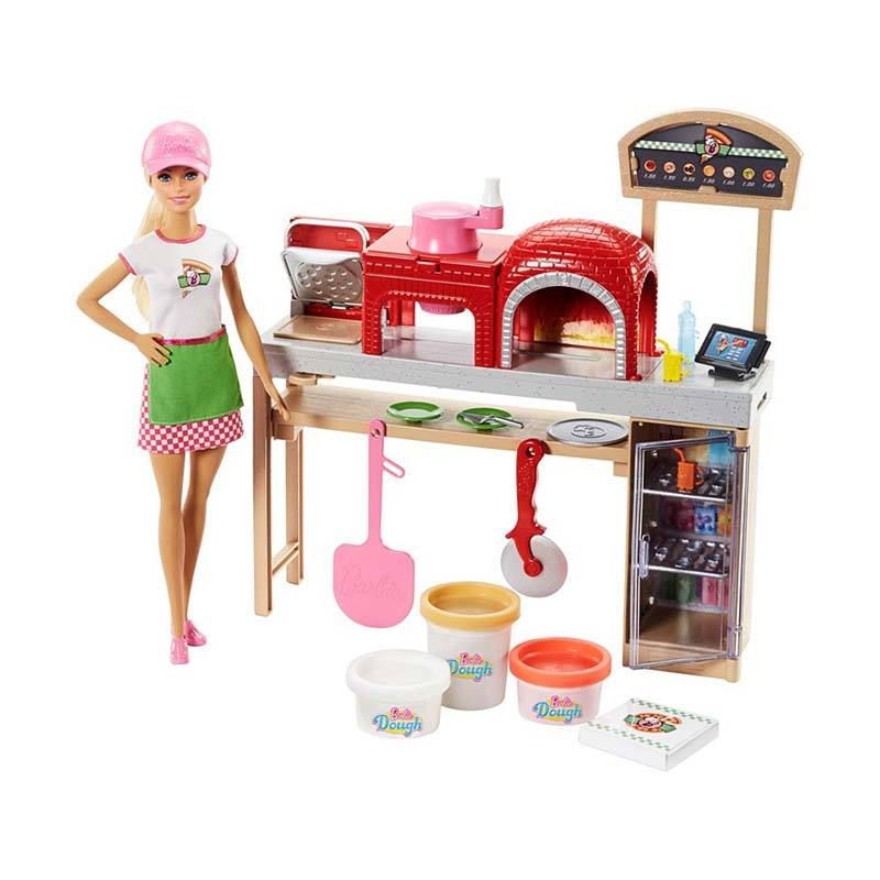 Barbie Pizza Chef Doll Playset FHR09