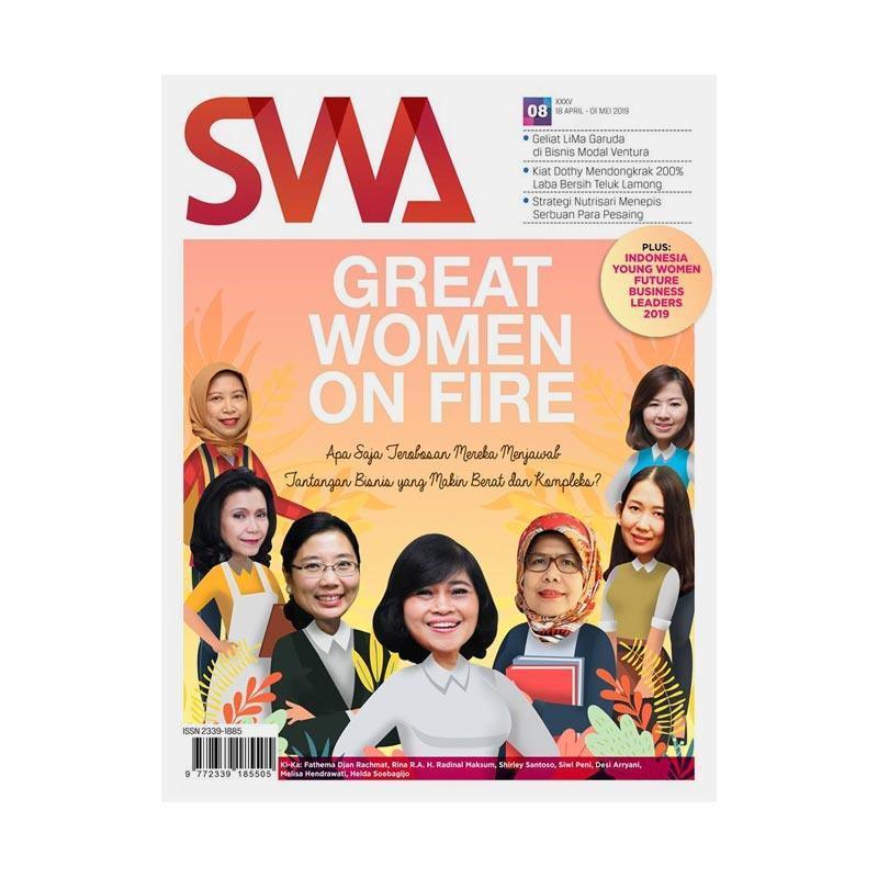 Jual Swa Edisi 8 Women On Fire Majalah Bisnis Online Januari 2021 Blibli