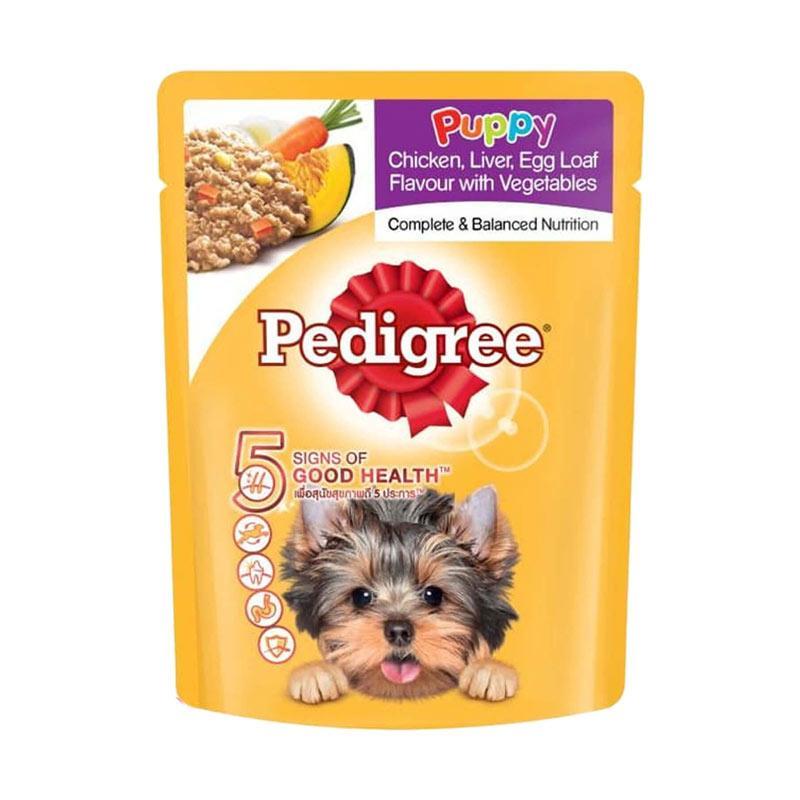 Jual Pedigree Puppy Chicken Liver Veg Makanan Anjing 80 G Kemasan Pouch Online Maret 2021 Blibli