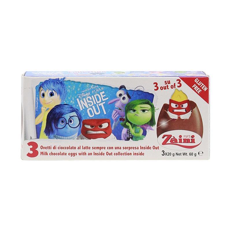 Jual Zaini Choco Eggs Inside Out 3 X 20 G Online Oktober 2020 Blibli Com