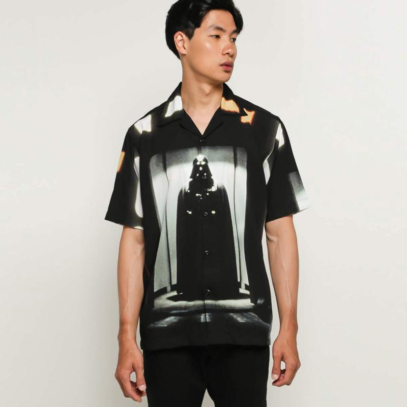 Monstore Star Wars Sith Lord Cuban Shirt Black