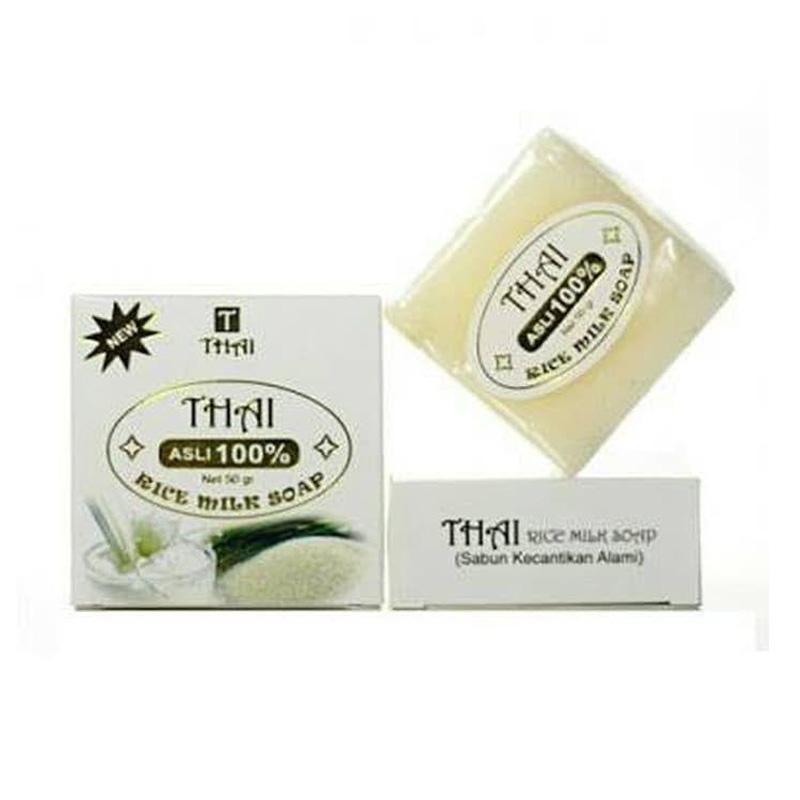 Jual Thailand Rice Milk Soap Sabun Mandi 50 G Online Agustus 2020 Blibli Com