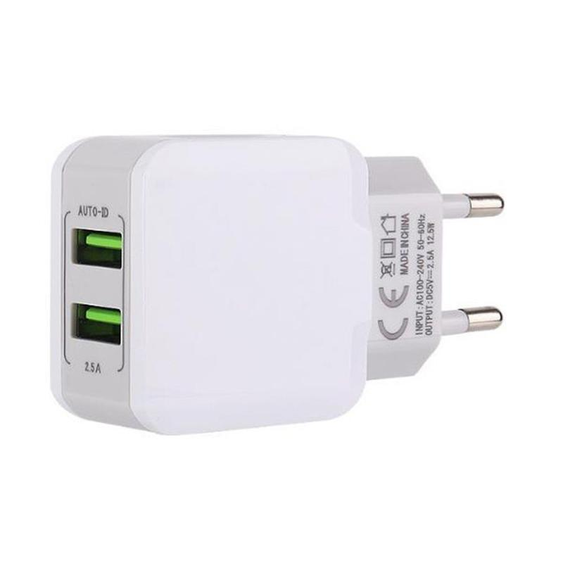 Genuine hot USB Cube Adapter Wall Charger for iPhone 3 4 5 6 6 plus 6s 5s