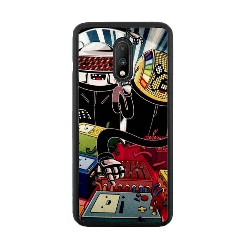 Jual Casing Custom Hardcase Adventure Time Daft Punk Fan Art