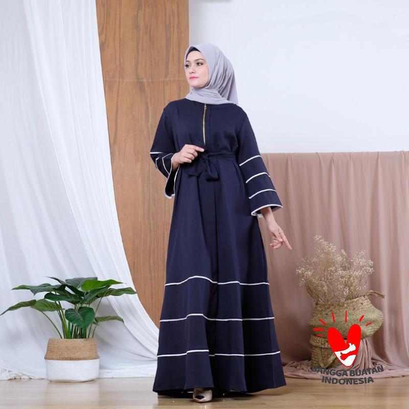 Jual Z Atikah Gamis Maxi Dress Fashion Wanita Muslimah Cantik Modern Kasual Elegan Polos Promo Untuk Digunakan Harian Online Maret 2021 Blibli