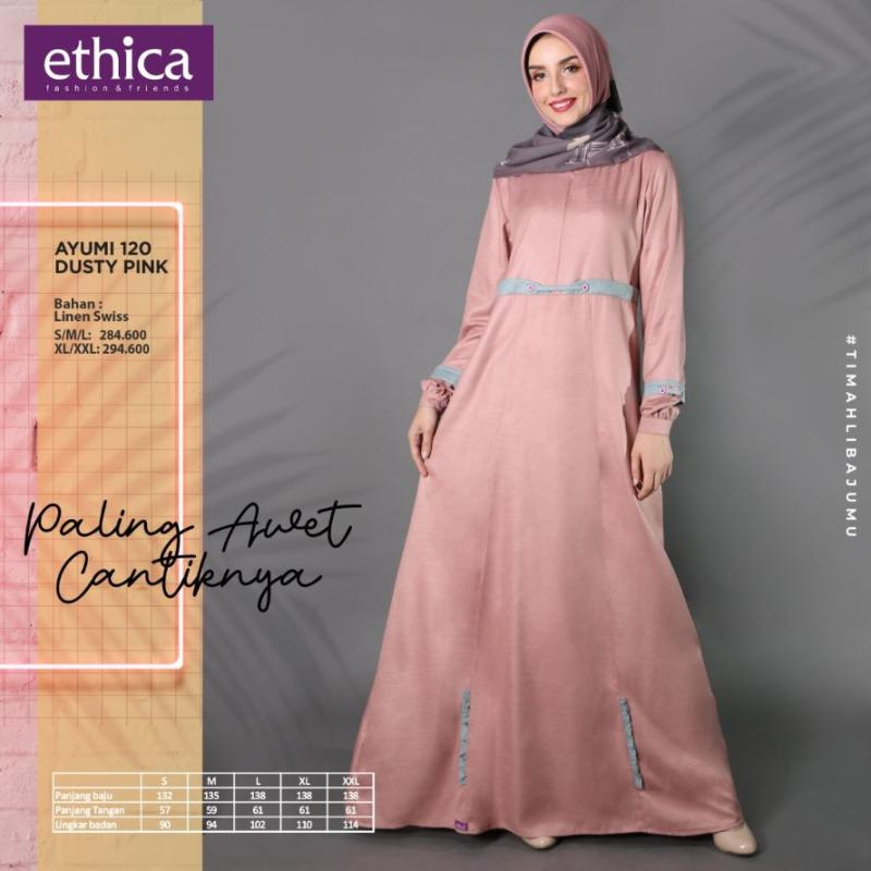 Ethica Collection Gamis Ethica Terbaru 2020 Jilbab Gucci