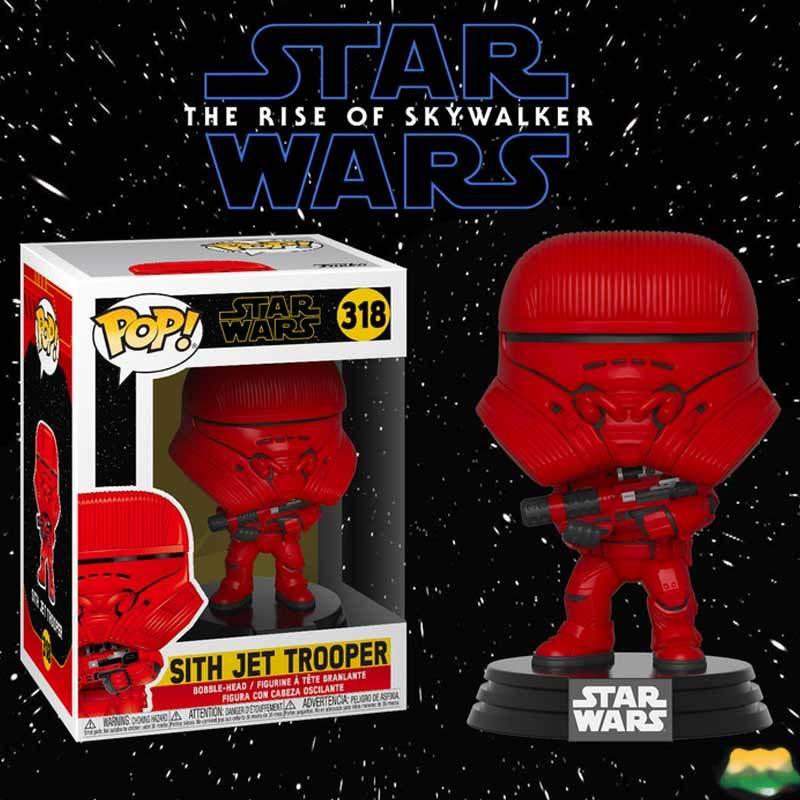 Jual Funko Pop Star Wars Ix The Rise Of Skywalker Sith Jet Trooper Online Agustus 2020 Blibli Com