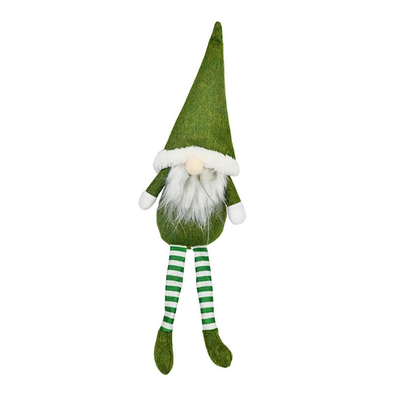 Christmas Stuffed Toy Santa Claus Plush Doll Gnome Dwarf Elf Xmas Tree Pendant!