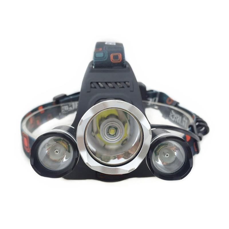 3000LM Rechargeable Tactical LED Headlamp Head Light Torch Work Lantern Li-Ion