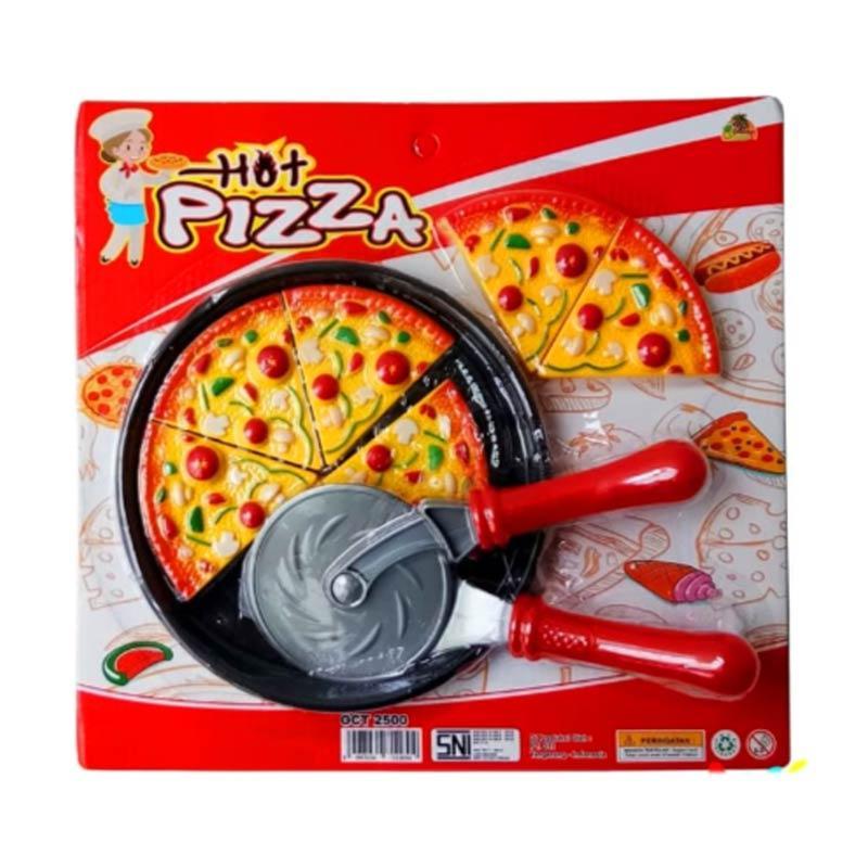 Jual Hot Pizza 6 Slices Cooking Kitchen Mainan Edukasi Masak Masakan Anak Kado Hadiah Koki Dapur Online November 2020 Blibli Com