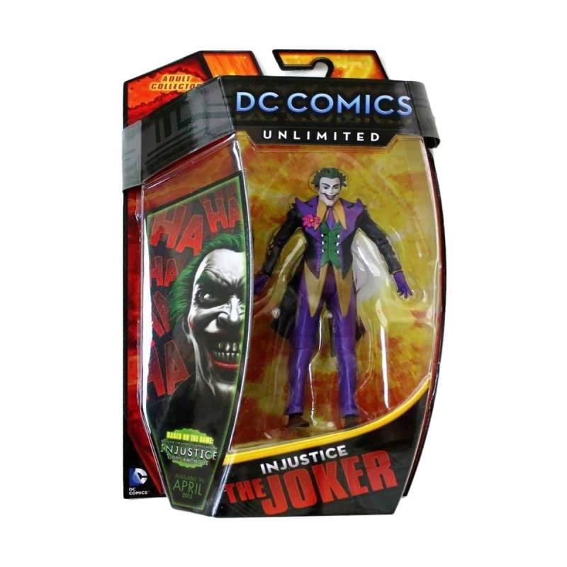 DC Comics Unlimited INJUSTICE Le Joker Collector Figure