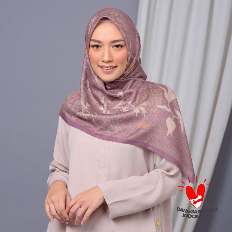 Zytadelia Kartini Hijab Segiempat Wanita Brown
