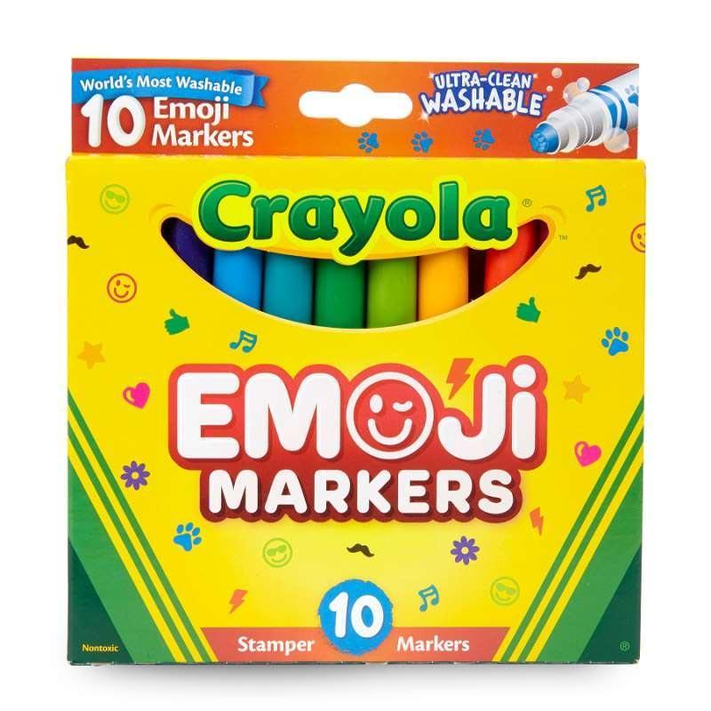 Crayola B L UCLN 24PK Emoji Marker 10 Ct