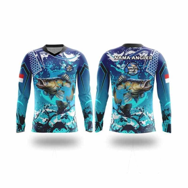 Jual Bintang Sport Jersey Emnfp06a Mancing Mania V Neck Lancip Custom Lengan Panjang Unisex Online Oktober 2020 Blibli Com