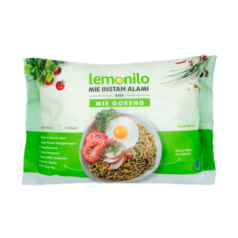 WHS Lemonilo Mie Goreng Instan Alami 77 g
