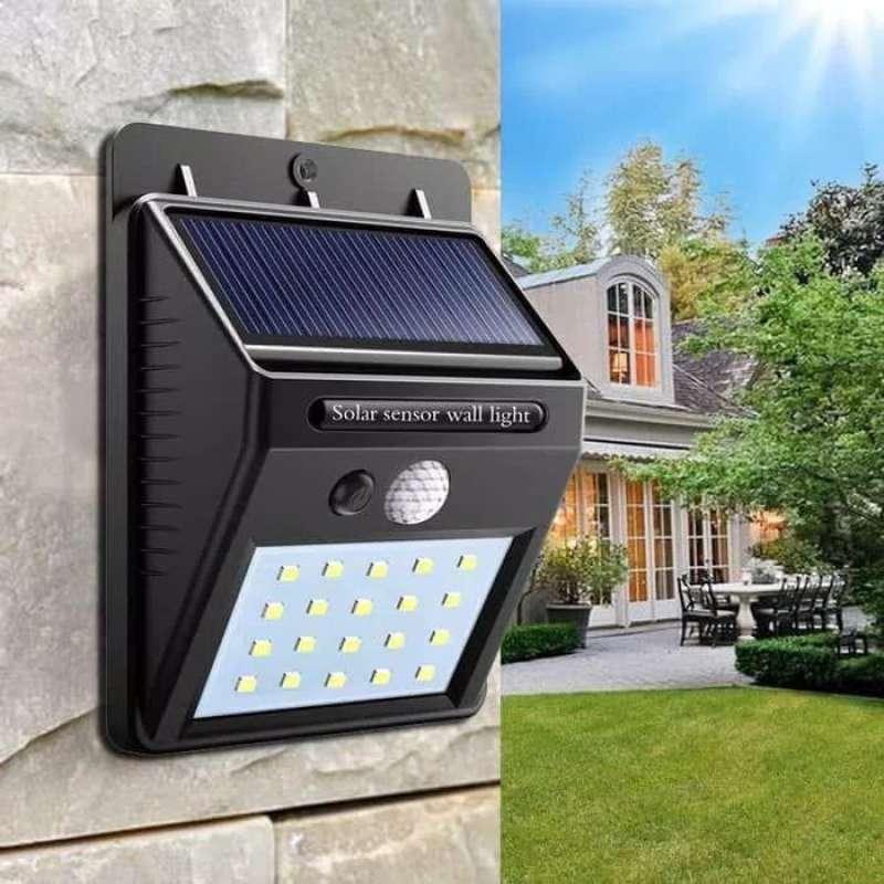 Jual Lampu Taman 30 Led Solar Emergency Lampu Tenaga Surya Wall Light X1g Online April 2021 Blibli