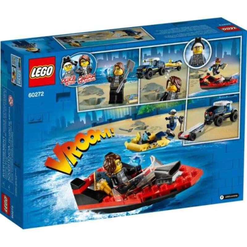 Jual Lego City 60272 Elite Police Boat Transport Online Oktober 2020 Blibli Com