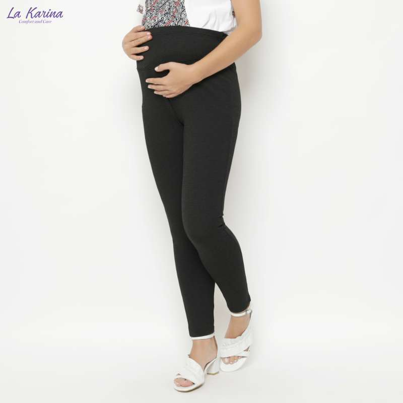 Jual La Karina Celana Legging Hamil Dgn Karet Elastis Adjustable Kathryn K 07009 Black Online Oktober 2020 Blibli Com