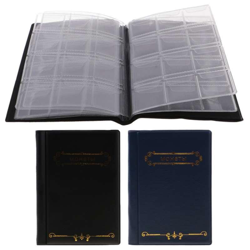 Jual 120 Coins Holder 27 5mm Case Money Penny Pocket Box Storage Album Book Gift Online Oktober 2020 Blibli Com