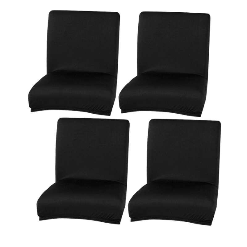 Jual 4pack Universal Dining Chair Wedding Banquet Bar Tall Stool Chair Seat Slip Covers Elastic Polyester Fabric Online Februari 2021 Blibli