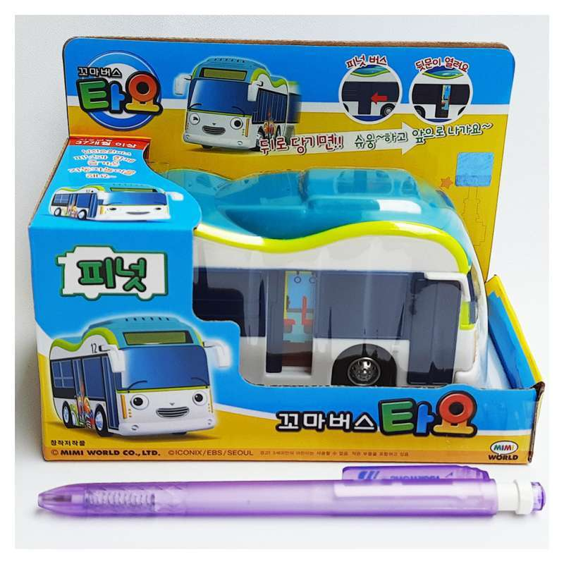 Jual Original Tayo The Little Bus Peanut Bus Tyx216010 Mimi World Korean Toys Animation Pull Backward Online November 2020 Blibli Com