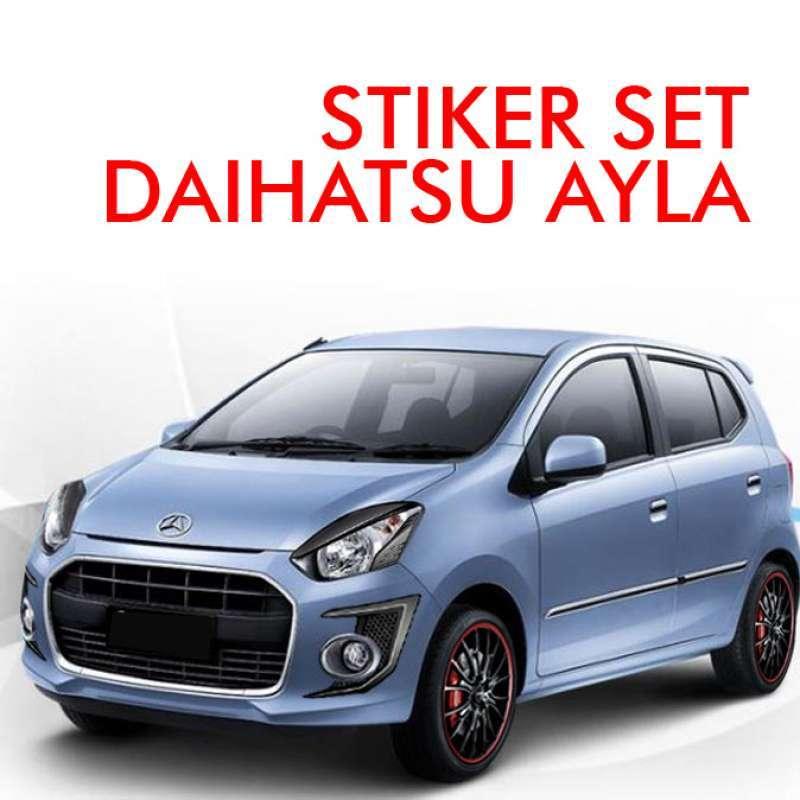 Jual Stiker Mobil Ayla Daihatsu Set Online Februari 2021 Blibli