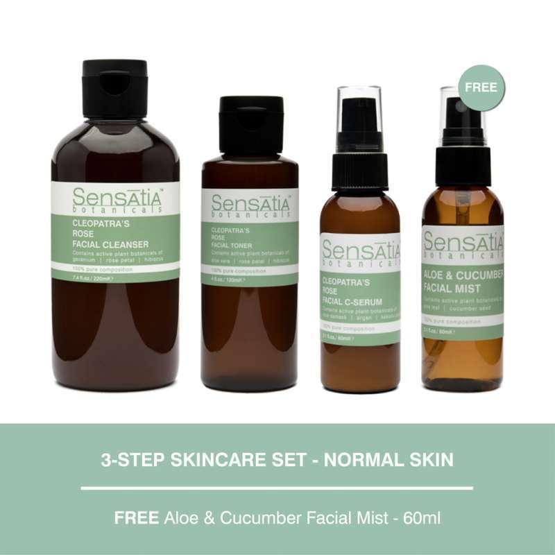 Sensatia Botanicals 3 Step Skincare Set Normal Skin