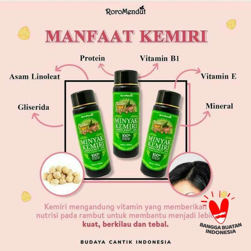 Jual Roro Mendut Minyak Kemiri Penumbuh Rambut Ampuh Online April 2021 Blibli