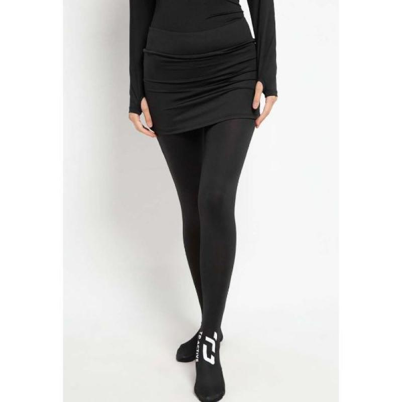 Jual Td Active Lb040 Celana Renang Panjang Wanita Muslim 2 In 1 Legging Lari Renang Hijab Hitam Online Oktober 2020 Blibli Com