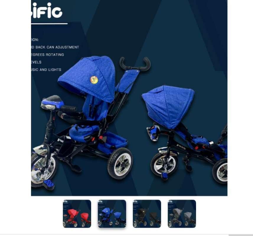 Jual Sepeda Anak Roda Tiga Pacific New Baby Stroller Musik Online Maret 2021 Blibli