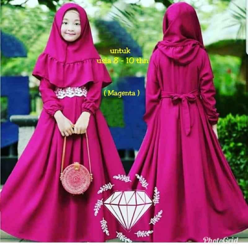 Jual Baju Gamis Anak Perempuan Busana Muslim Anak Syari Online Februari 2021 Blibli