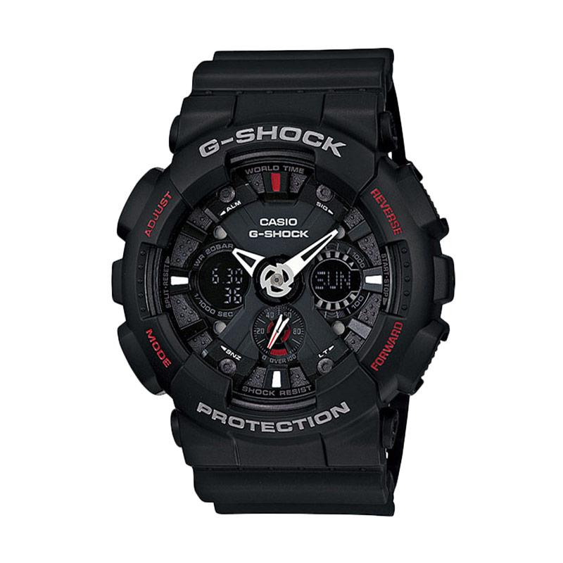 Casio G-Shock GA-120-1A Karet Jam Tangan Pria - Hitam